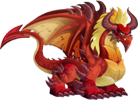 imagen del dragon demonio de la isla calabozo de dragon city