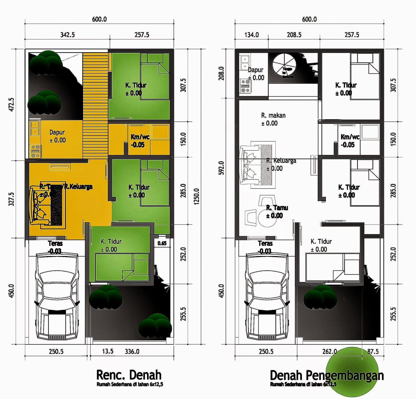 Contoh Denah Rumah Type 65   Desain Rumah Minimalis 2014  Idolbuster