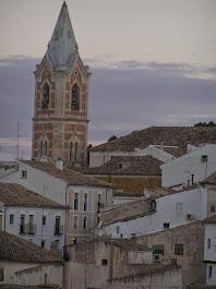 TORRE DE LA IGLESIA DEL SALVADOR EN CUENCA