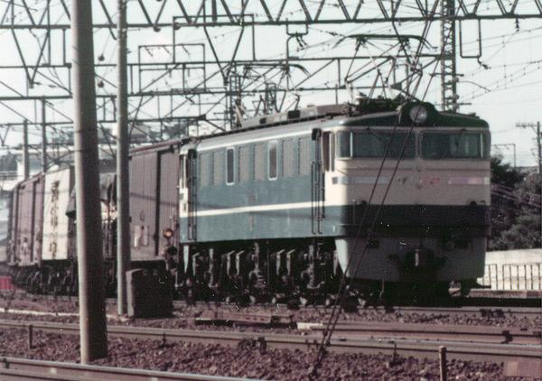 国鉄EF60形電気機関車