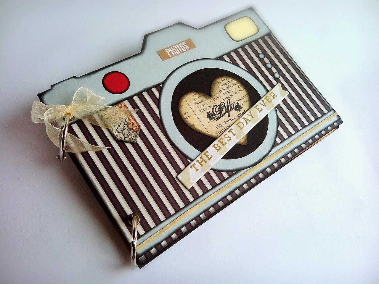 Arte nath album fashion camera - Decoracion de album de fotos ...
