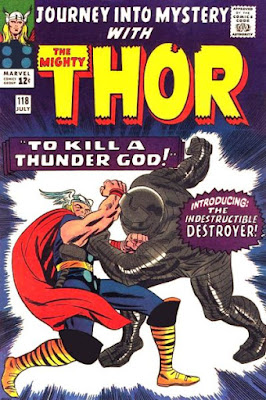 Journey Into Mystery #118, Thor vs the Destroyer