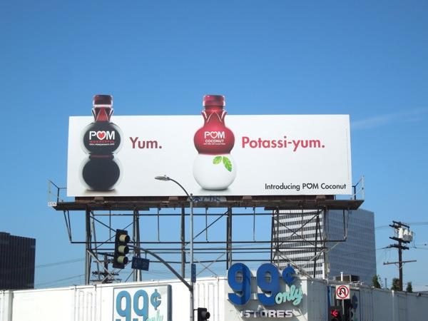 Pom Coconut Potassiyum billboard