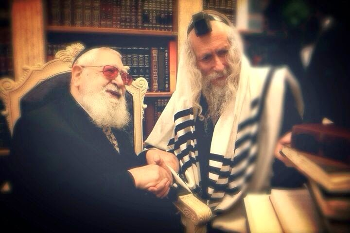 Rabbi Berland with Rabbi Ovadia Yosef
