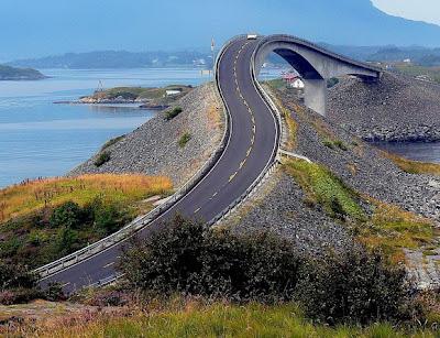 Atlantic Road 1 Inilah 5 Jalan Paling Indah di Dunia