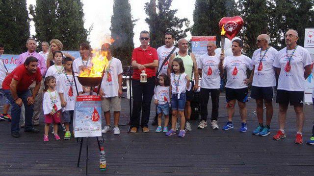 Στον Έβρο την Κυριακή η 13η Πανελλήνια Λαμπαδηδρομία Εθελοντών Αιμοδοτών