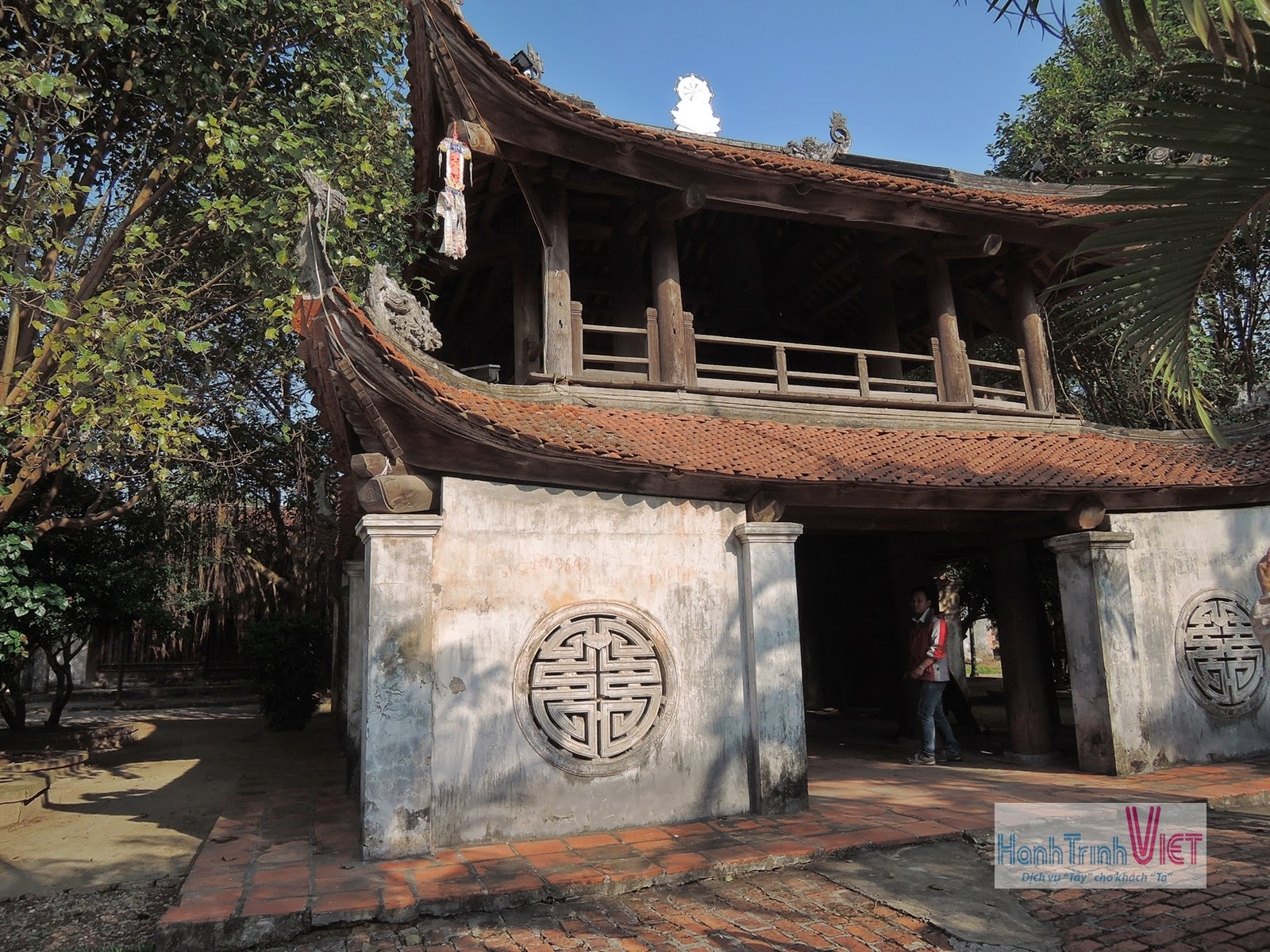 Tham quan chùa Bút Tháp ở Bắc Ninh - 2014