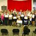 Mais quatro turmas se formam em cursos do Fundo Social de Solidariedade