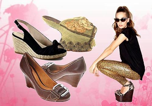 Sepatu Wedges Masih Jadi Pilihan Wanita