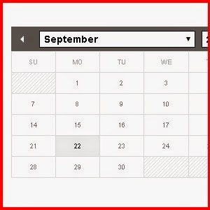 Add a calendar and Date Picker to Weebly