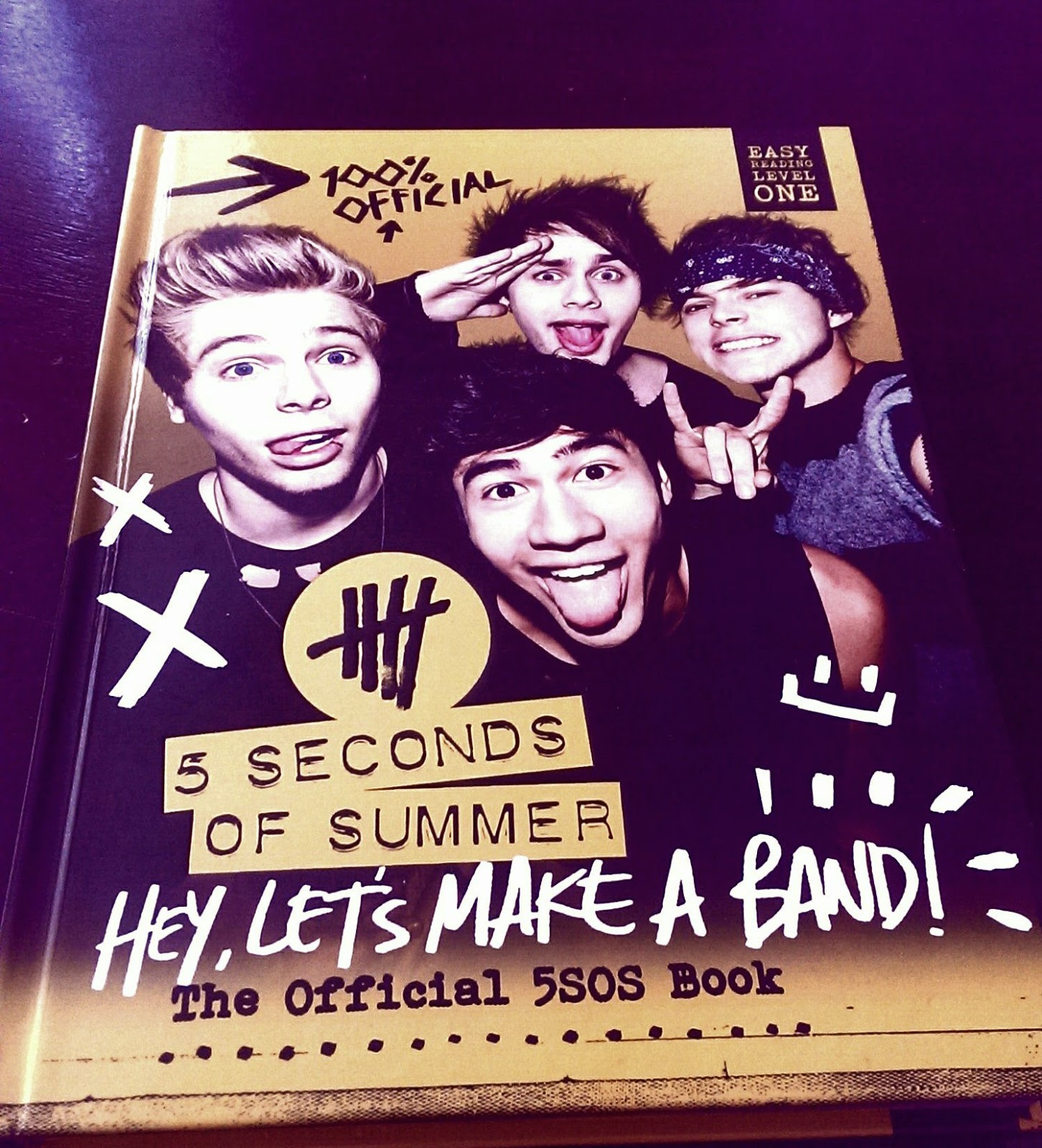 5 seconds of summer lets make a band the official 5sos book