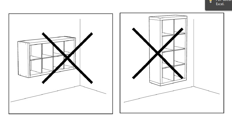 Ikea Under Cabinet Glass Rack ~ How to Mount a SAFE floating 2 x 4 EXPEDIT shelf ~ Get Home