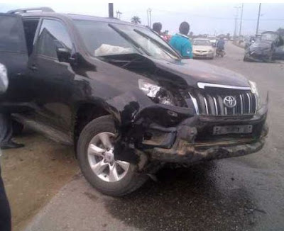 governor amaechi convoy accident