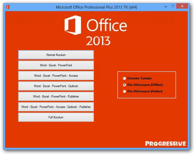 64разрядные выпуски Office 2013