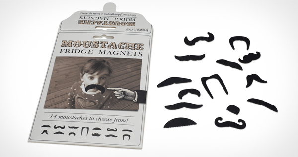 Moustache Fridge Magnets