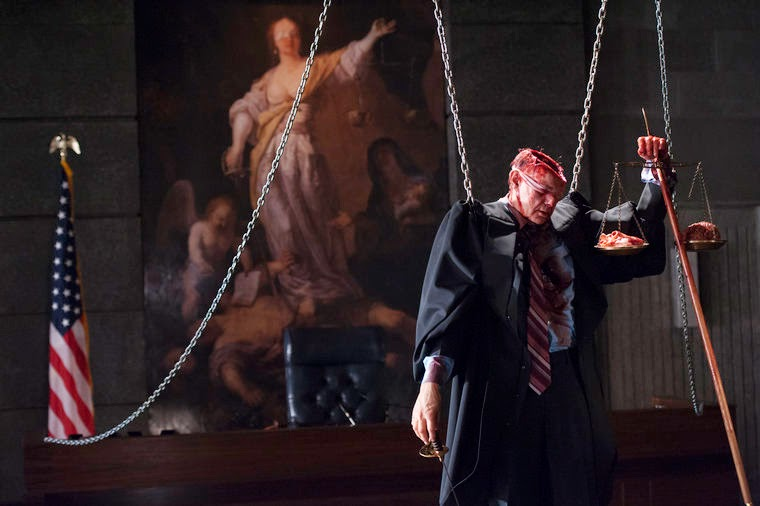 Judge in chains