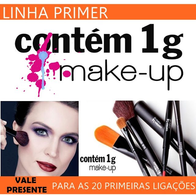 LINHA PR MAQUIAGEM DA CONTM 1g