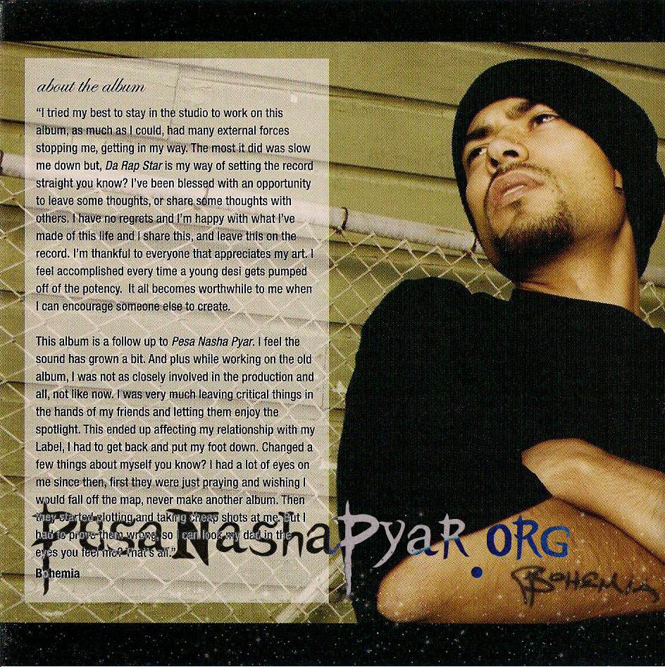 Bohemia - Da Rap Star - Full Album - The Hip Hop