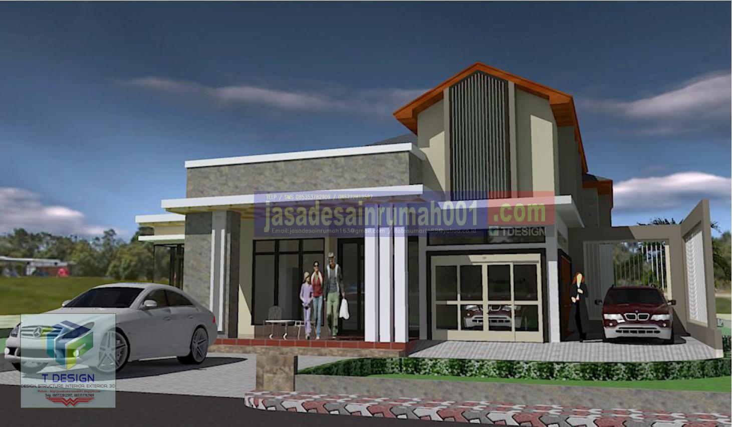 jasa desain rumah t design desain terbaru rumah ukuran