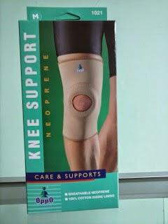 Deker lutut oppo, knee brace oppo