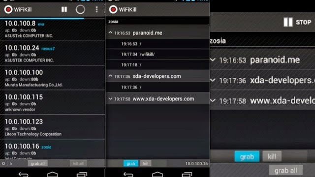 Android hacking apps wifi kill