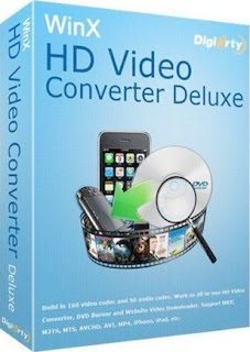 WinX HD Video Converter Deluxe v3.12.2 Final Box Capa