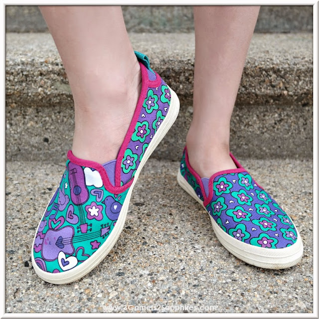 Fun Mismatched Chooze Shoes for Girls |  www.3Garnets2Sapphires.com