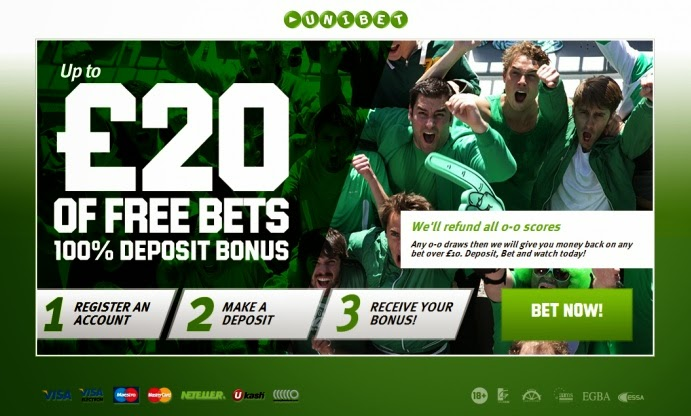 Unibet Screen