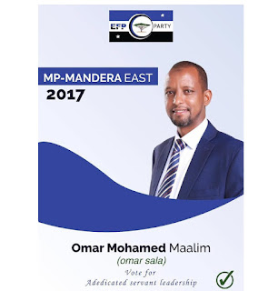 CURRENT MANDERA TOWN MP 2017-2022