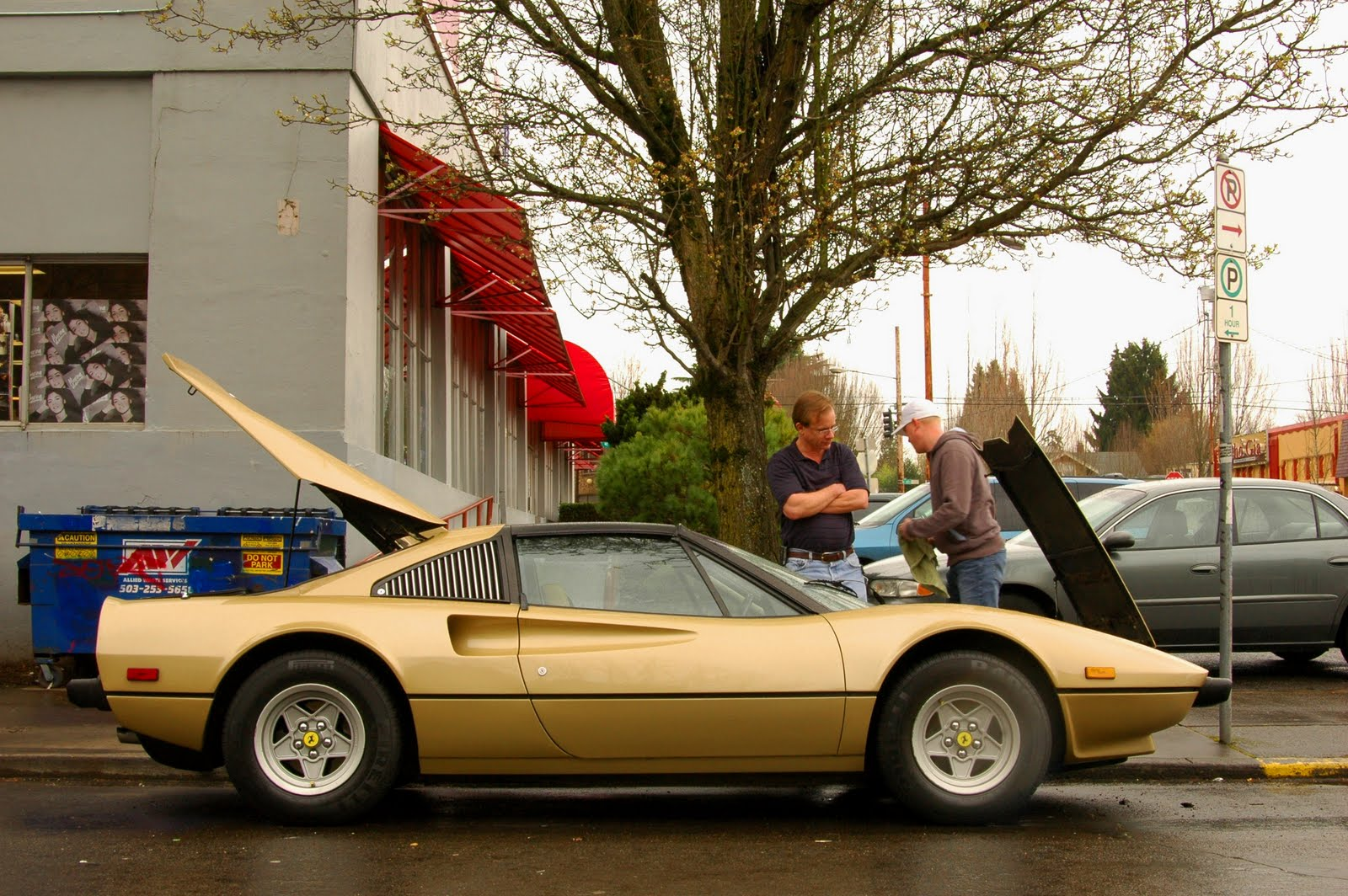 OLD PARKED CARS Richs 1978 Ferrari 308 GTS