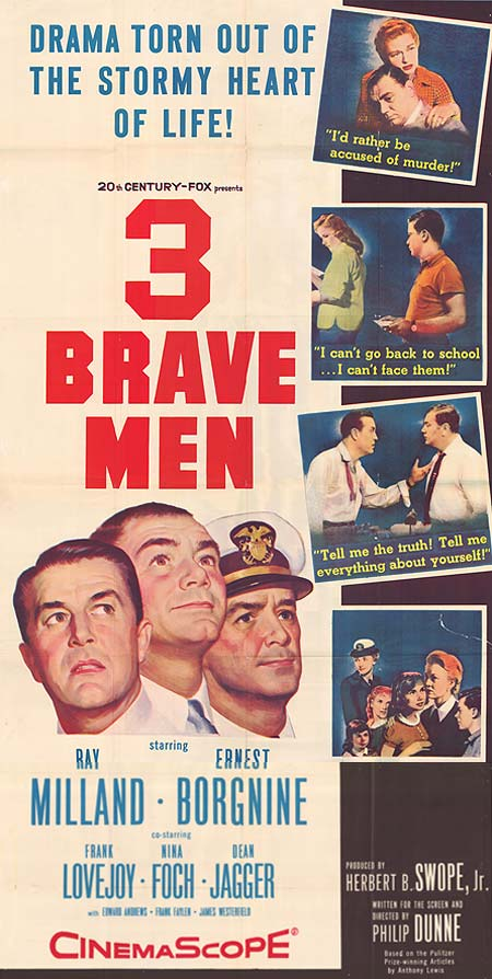Three Brave Men movie