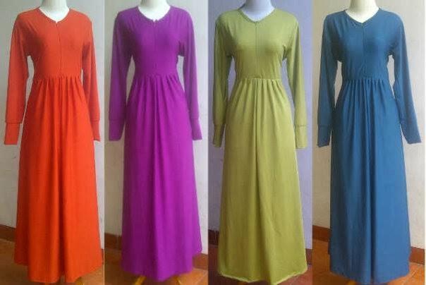 Gamis Jersey Oki Setiana Dewi Murah Grosir Baju Gamis