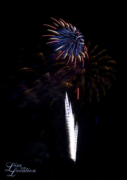 Fireworks. Lisa On Location Photography, 365 photo project, New Braunfels, San Marcos, San Antonio, Austin