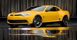 Bumblebee concept Camaro for Transformers 4