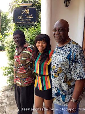Maison d'Hôtes - Villa Des Fées - Douala - Déjeuner - Manu Dibango