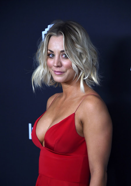 Actress, @ Kaley Cuoco - InStyle And Warner Bros. Golden Globe Awards Post-Party in Beverly Hills