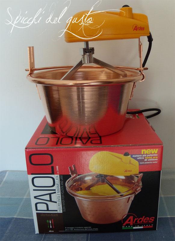 paiolo elettrico per polenta e marmellate