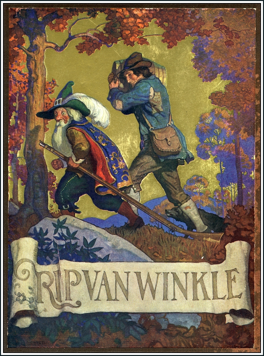 rip van winkle by washington irving The first installment, containing rip van winkle, was an enormous success the life of washington irving 2 vols (oxford university press, 1935.
