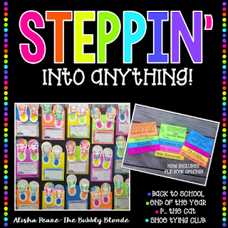 https://www.teacherspayteachers.com/Product/Steppin-into-a-new-year-Back-to-SchoolEnd-of-Year-Craftivity-258304