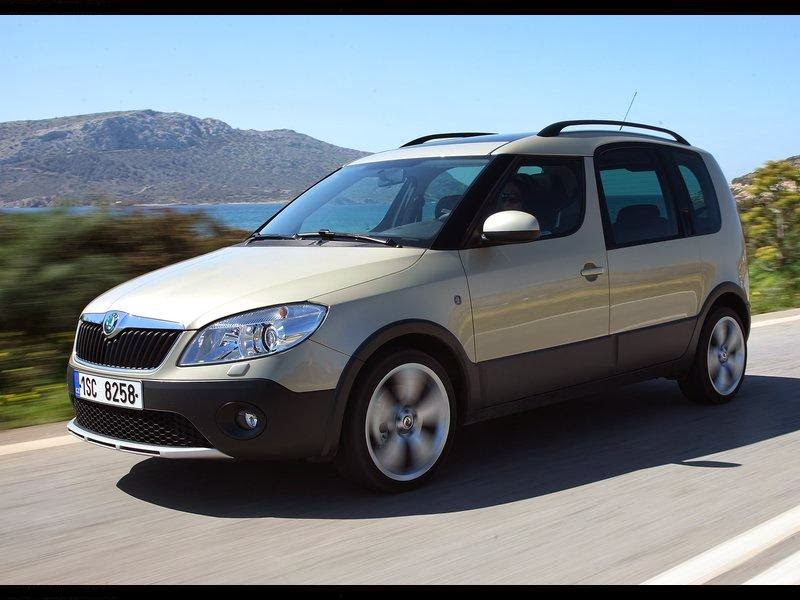 Skoda Roomster Scout Model Year 2011 News Cars New