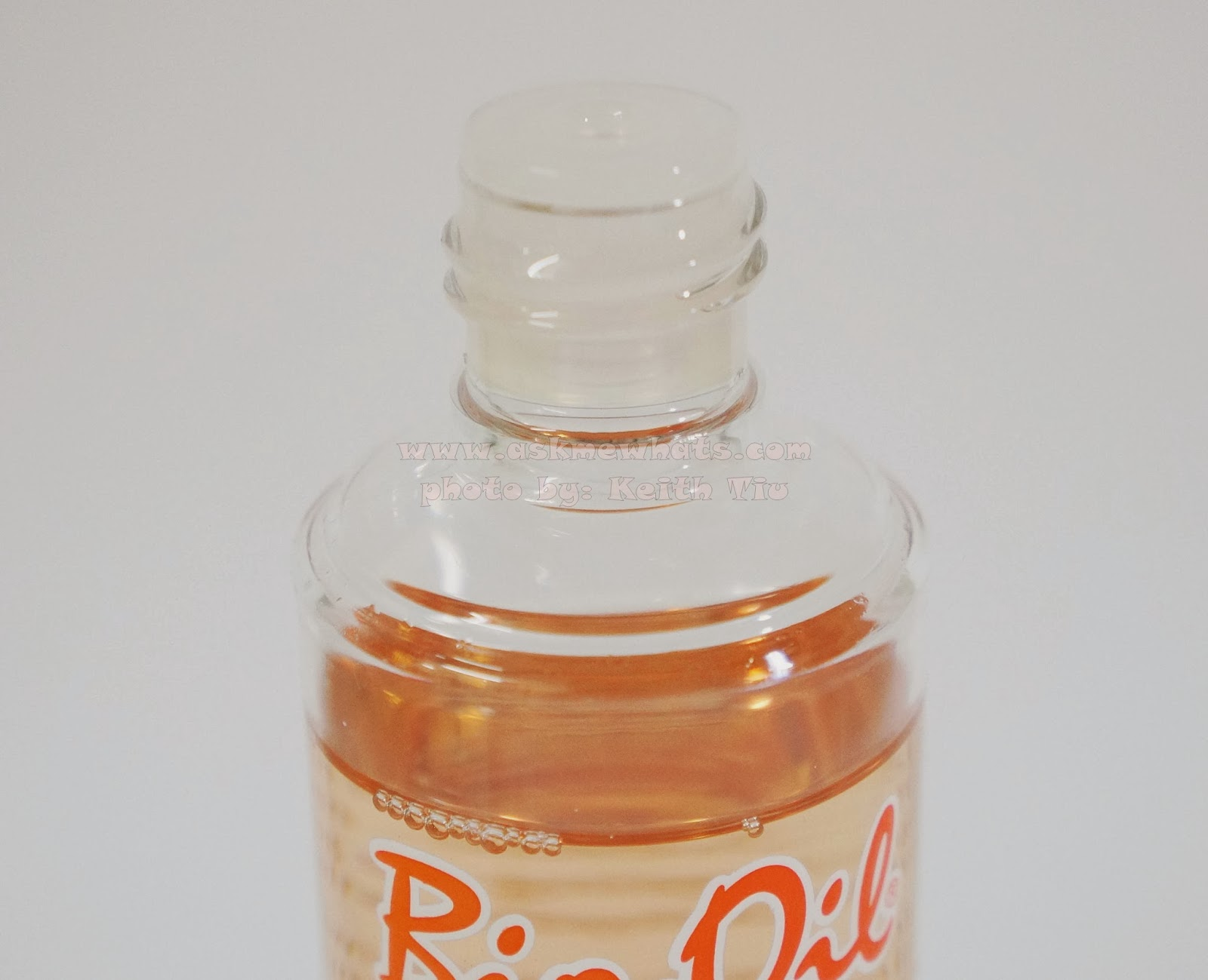 Bio Clear Oil The Texture of Bio-oil is a