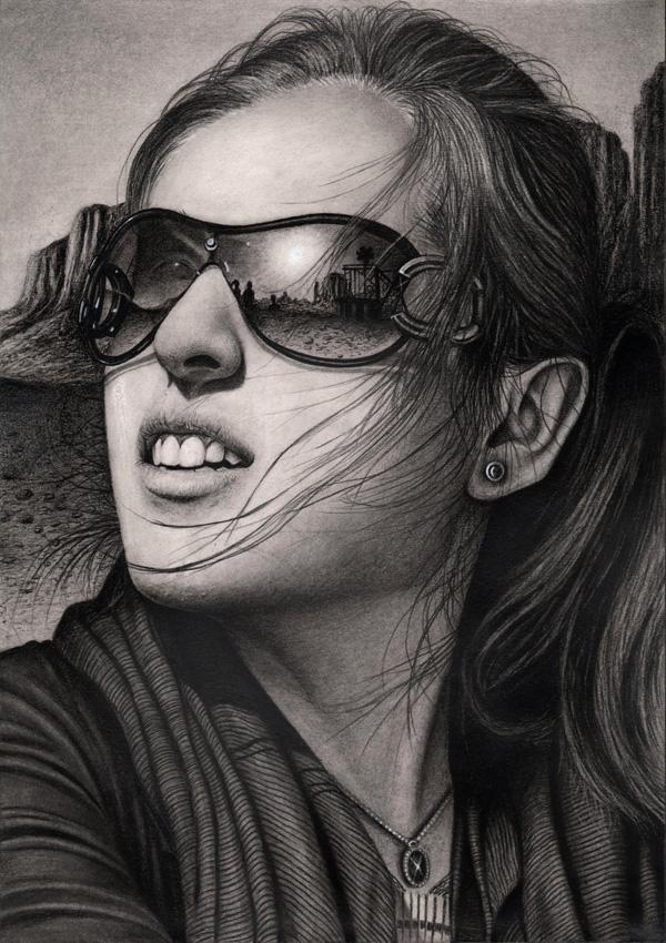 Ilustrações a lápis de Pen Tacular