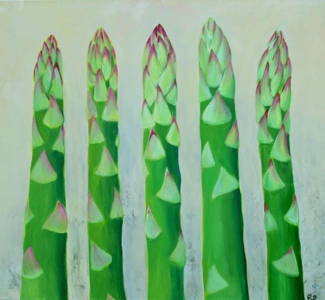 Szparagusy olbrzymie