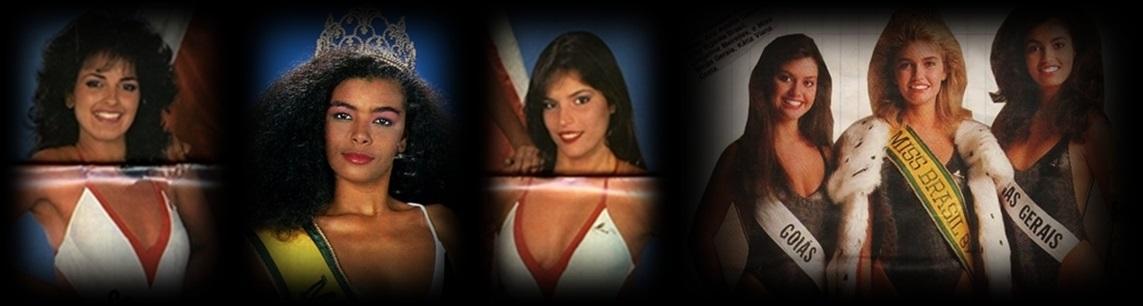 MISSES UNIVERSO BRASIL TOP TRES 1966 E 1987