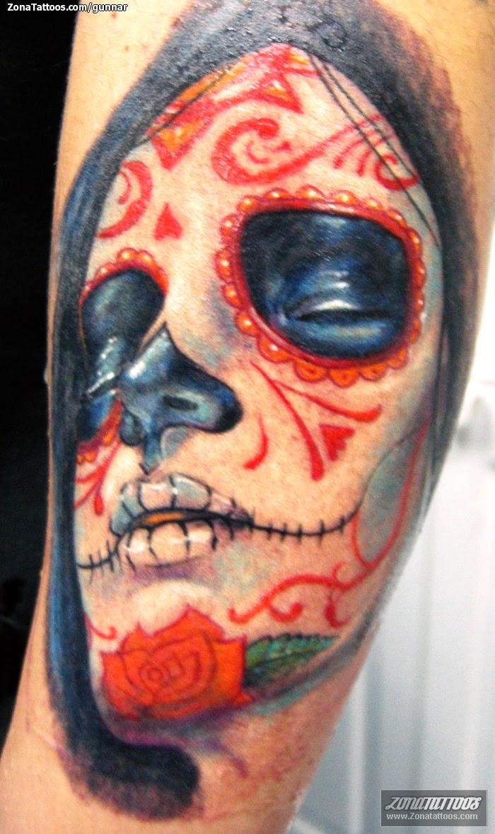 Amazing Catrina Tattoos Design