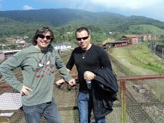 Com Fredi Jon em Paranapiacaba 2012