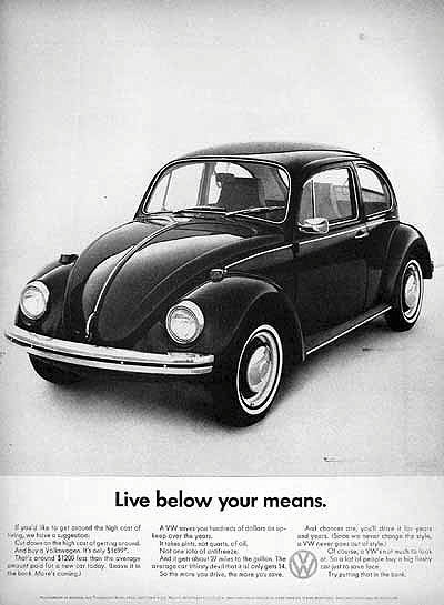 Cool & Sweet Vintage Volkswagen Ads ~ vintage everyday