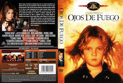 Carátula dvd: Ojos de fuego (1984) Firestarter - Online