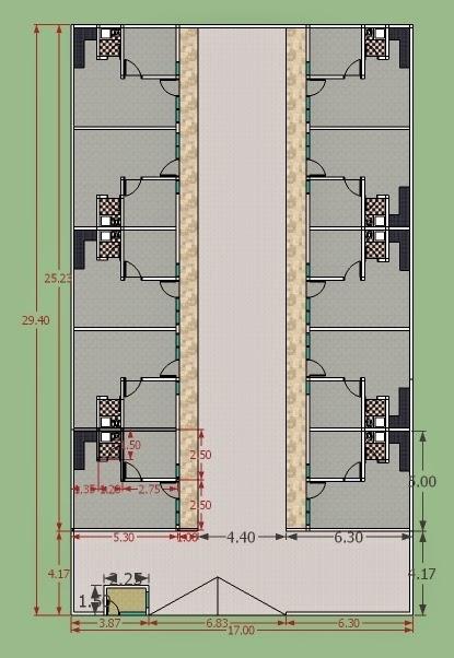 inspirasi desain rumah kost sederhana yang nyaman