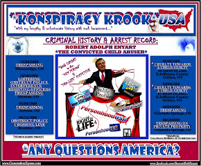 "*Konspiracy KrookUSA* - A Convicted Child Abuser & ""Pro-Life"" Puppeteer:"